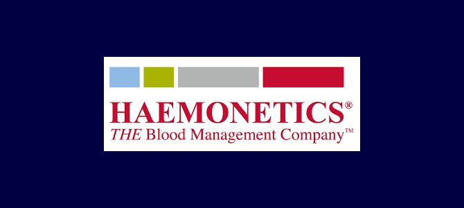 Accord de distribution avec Haemonetics